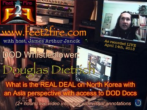 Feet to the Fire: Douglas Dietrich on North Korea