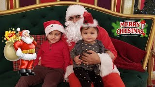 Santa Clause in the Mall || santa in real life || Jai Bista Show