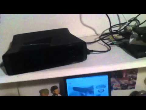 How to put an External/Internal Hard Drive on Xbox 360 Slim