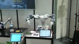ロボデックス2017 産業ロボット ABB YuMi (2017.01.20)