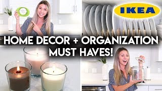 10 IKEA HOUSEHOLD MUST HAVES | DECOR + ORGANIZATION