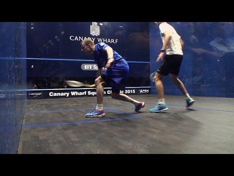 Squash: Canary Wharf Classic 2015 Round Up : Round 1 [Pt1]