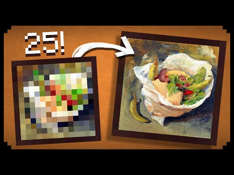 ✔ Minecraft: 25 Things You Didn't Know About the Paintings