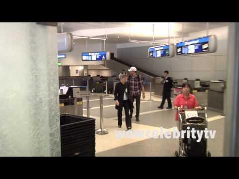 Bradley Cooper and his girlfriend Suki Waterhouse arrive to LAX Airport