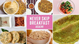 Healthy Vegetarian Breakfast Recipes for Beginners | Easy & Delicious