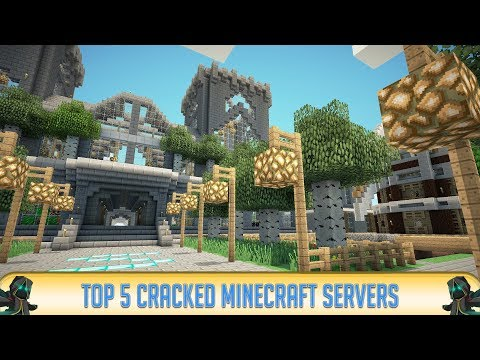 TOP 5 BEST CRACKED MINECRAFT SERVERS!   Minecraft 1.9 & 1.8   2016   HD