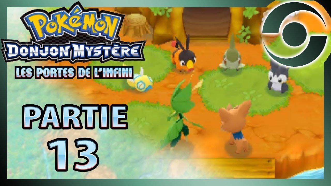 Pok mon donjon myst re 13 les portes de l 39 infini tu - Pokemon donjon mystere porte de l infini ...