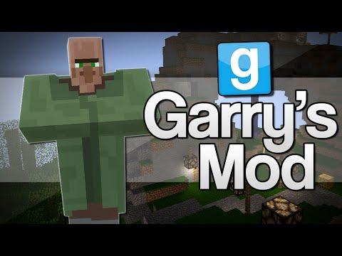 TINY HEAD VILLAGERS Garrys Mod: Minecraft Mods GMod