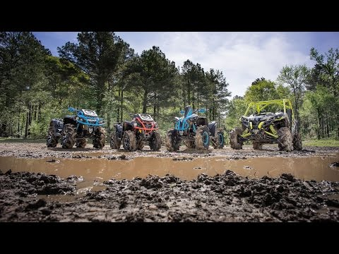 2016 Can-Am X mr Mud Lineup Featuring Dustin Jones