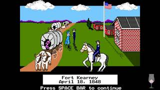 MS-DOS Crypt - The Oregon Trail