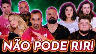 NÃO PODE RIR! com Giovana Fagundes, Júnior Chicó, Victor Ahmar e Lucas Cunha
