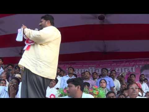 Pappu Yadav,aashirvad Yatra Saharsa Part 3 video