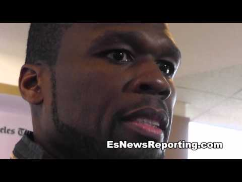 50 Cent talks about TAPIA the movie - EsNews Boxing