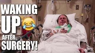 I HAD SURGERY!! HILARIOUS WAKING UP!! | BRIAN BARCZYK