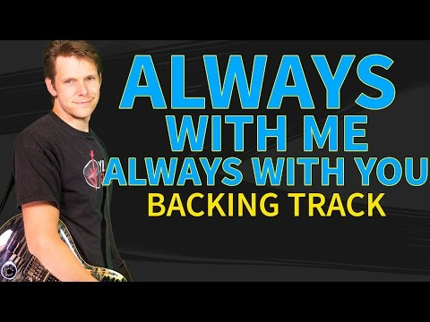 Joe Satriani - Acoustic Backing Always With Me Always With You