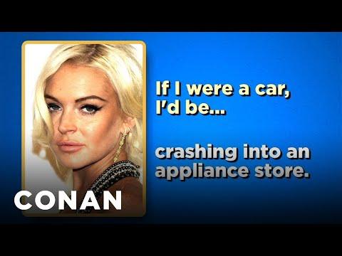 Celebrity Survey: Lindsay Lohan, Gary Busey Edition - CONAN on TBS