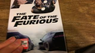 The fate of the furious DVD and blu-ray