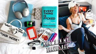what's in my travel carry on bag + packing for japan!