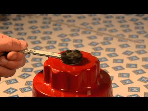 How To Remove A KitchenAid Blender Coupler Using A K A Parts Spanner / Wrench