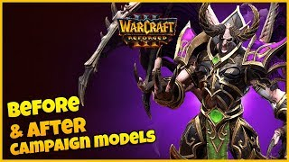 Undead Campaign Models - Side by Side Comparison | Warcraft 3 Reforged Beta