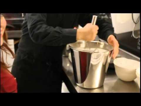 How To Make Cardamom Ice Cream At Jätskibaari Vohveli in Pori, Finland