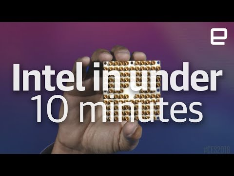 Intel's CES 2018 event in under 10 minutes