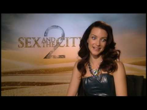 SATC 2 Junket Soundbites Kristin Davis Part 2