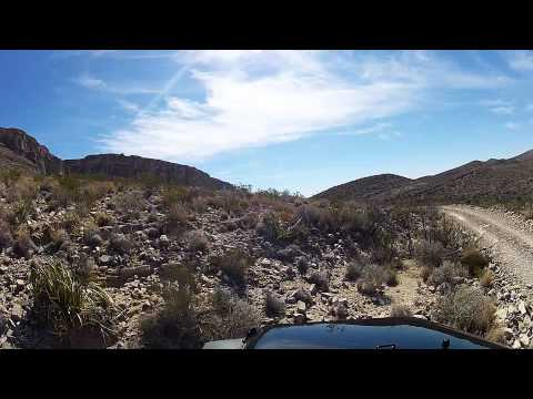 Big Bend National Park - Old Ore Road