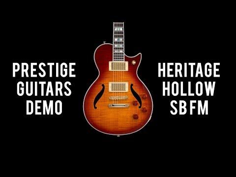 Prestige Guitars Heritage Hollow FM