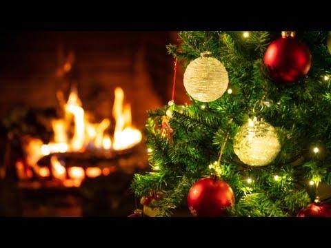 Kaminfeuer mit Weihnachtsmusik (4K) – 4 Stunden Weihnachtliches Kaminfeuer mit Weihnachtsliedern