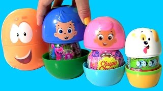 BABY BUBBLE GUPPIES STACKING CUPS Nesting TOYS SURPRISES Mr. Grouper Molly Gil Puppy Toys Club