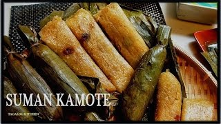 Suman Kamote by Luweeh's Tagalog Kitchen