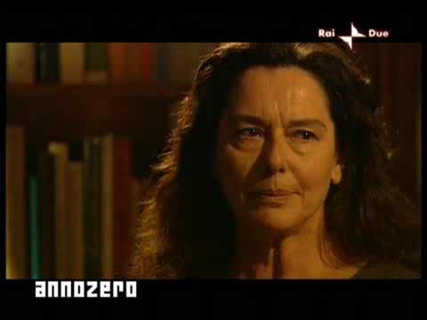 Le parole di Veronica Lario interpretate da Monica Guerritore – Annozero – 07/05/2009 – p.1/4