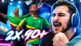 TIREI 2 +90 NO PACK DO SBC DA UCL! PACK OPENING FIFA 19 Ultimate Team