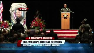 Funeral Coverage of Sgt. Wilson