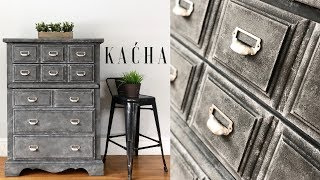 How to create a Stone Finish with Annie Sloan Chalk Paint