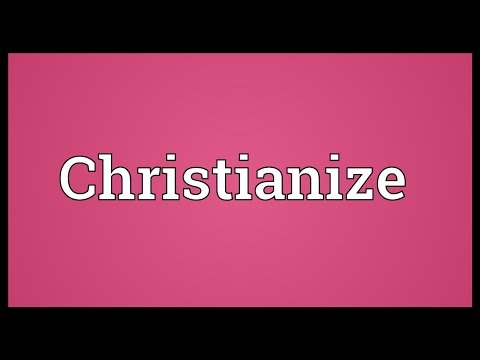 Header of christianize
