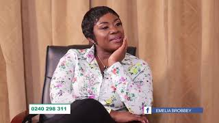 My Mother Stripped N@ked and Cursed Me - Obaa Yaa on Emelia Brobbey's Okukuseku The Talk Show