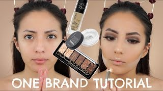 TALK THRU ONE BRAND DRUGSTORE MAKEUP TUTORIAL (Subtitulado) | itsmeana