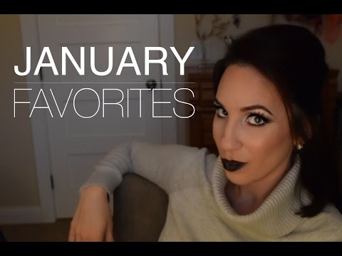 January Favs | Acne, Anti-Aging, Hair Care & Makeup