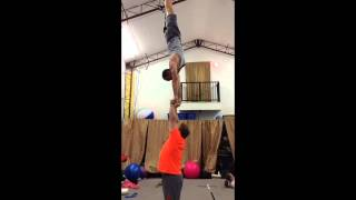 US Sports Acro Champion David Floyd and Tari Mannello
