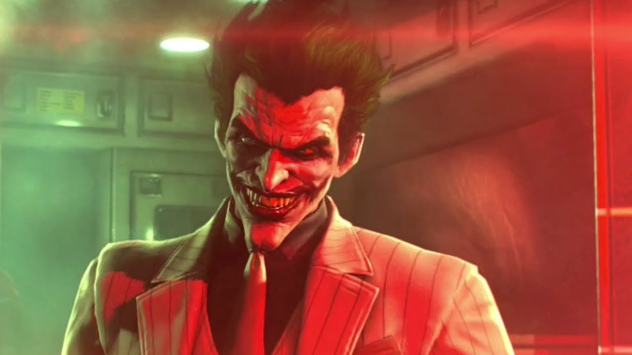 Arkham Joker Laugh Batman Arkham Origins Joker