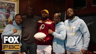 World Champion Jarrett Hurd visits the Washington Redskins | PBC ON FOX