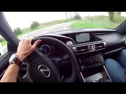 2014 Lexus IS 350 F Sport - WINDING ROAD POV Test Drive