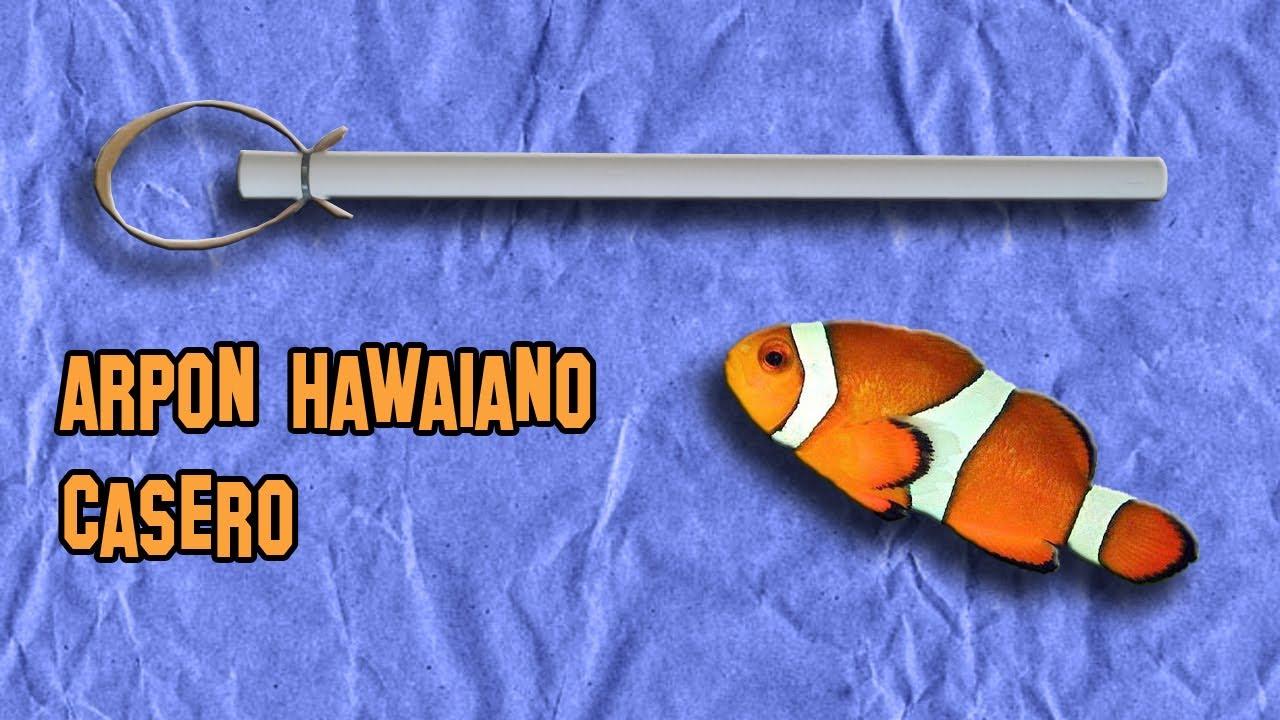 Como hacer un arp n hawaiano armas caseras f ciles youtube for Proyecto de criadero de mojarras