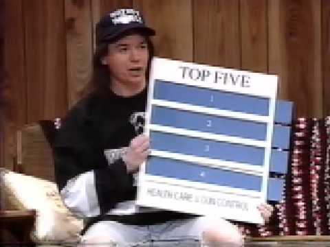 Canadian Wayne's World: Mike Myers
