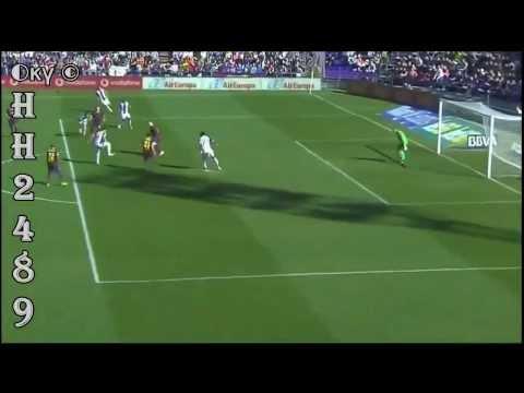 Valladolid vs Barcelona 1-0 ~ GOL Fausto ROSSI ~ Valladolid 1-0 Barcelona Liga BBVA 08/03/2014