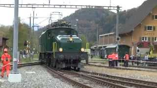 Krokodil Fahrzeugtreffen  2014 Bauma Lokomotive 11.10.2014