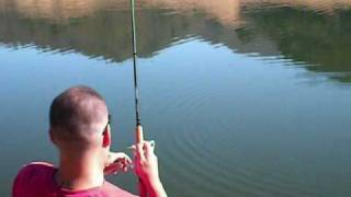Uvas Reservoir Bass fishing (EXPLICIT)