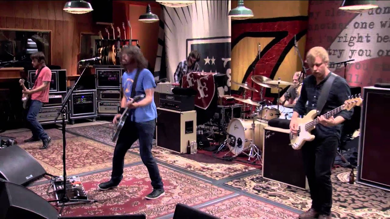 Foo Fighters These Days Wasting Light Live From Studio